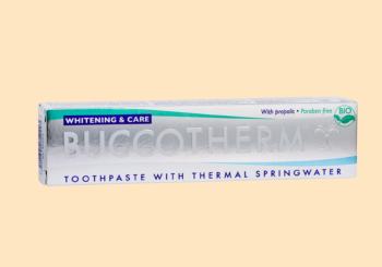 健口泉有機蜂膠亮白牙膏